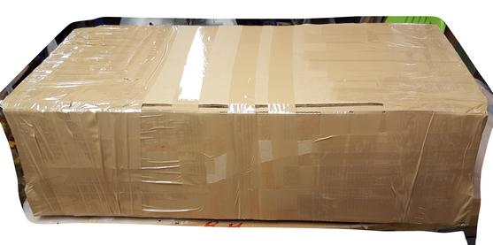 canape avec carton